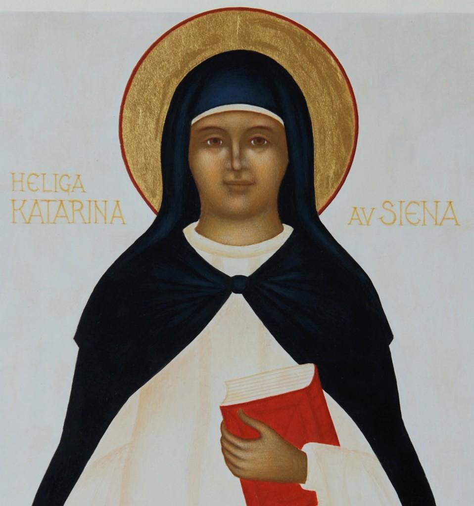 Katarina av Siena, detalj
