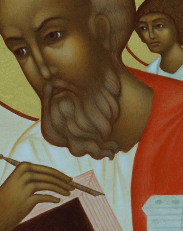 3 Johannes, ansiktsdetalj