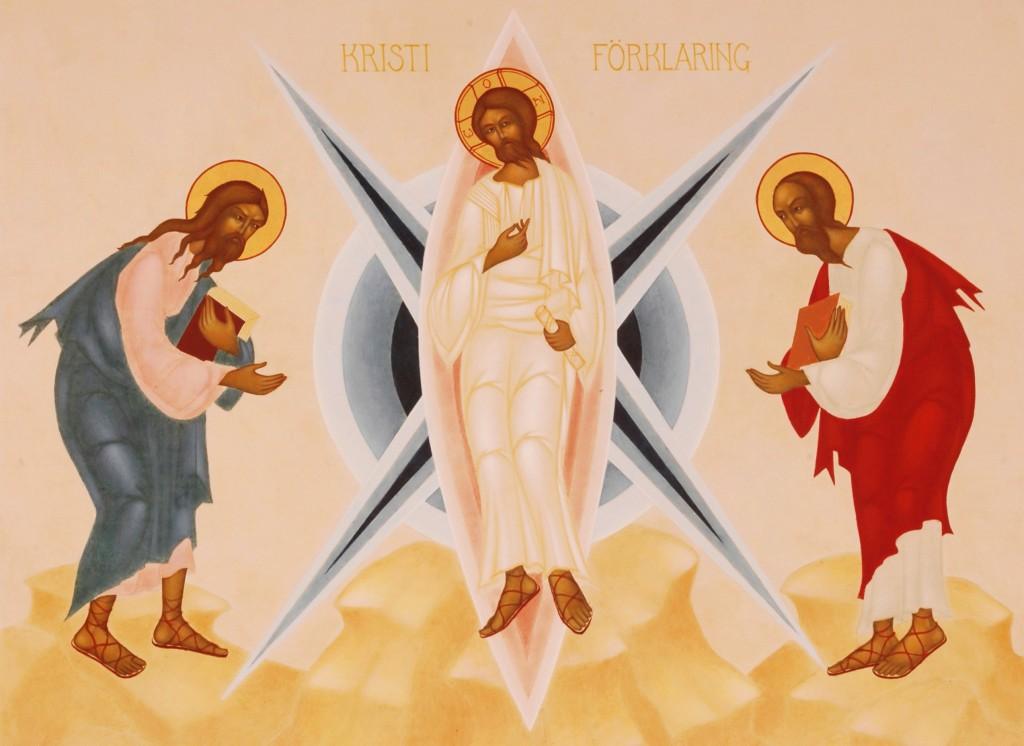 Kristi förklaring, övre del