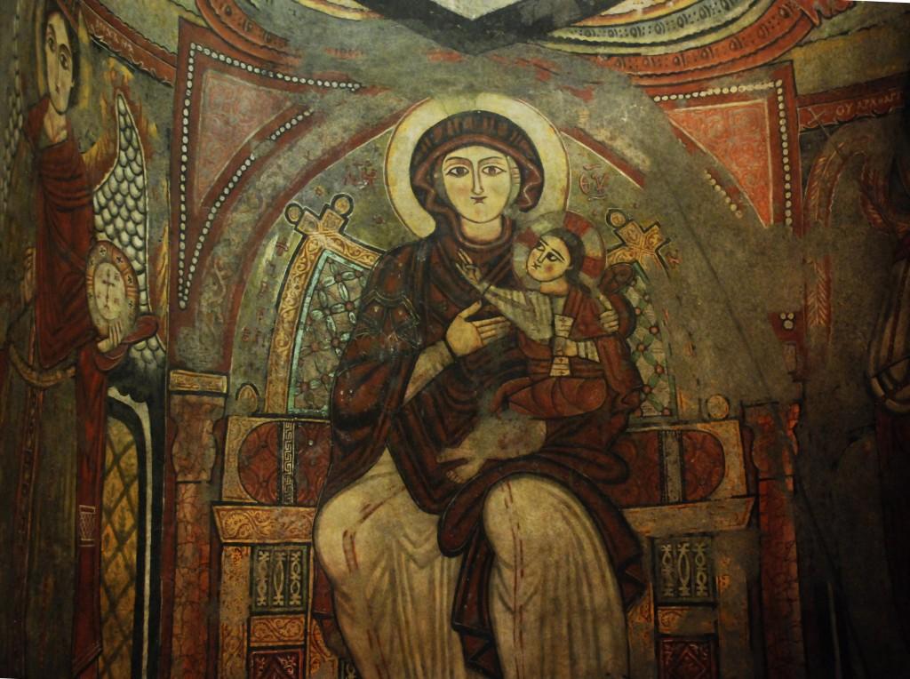 2 Detalj från Antoniusklostret