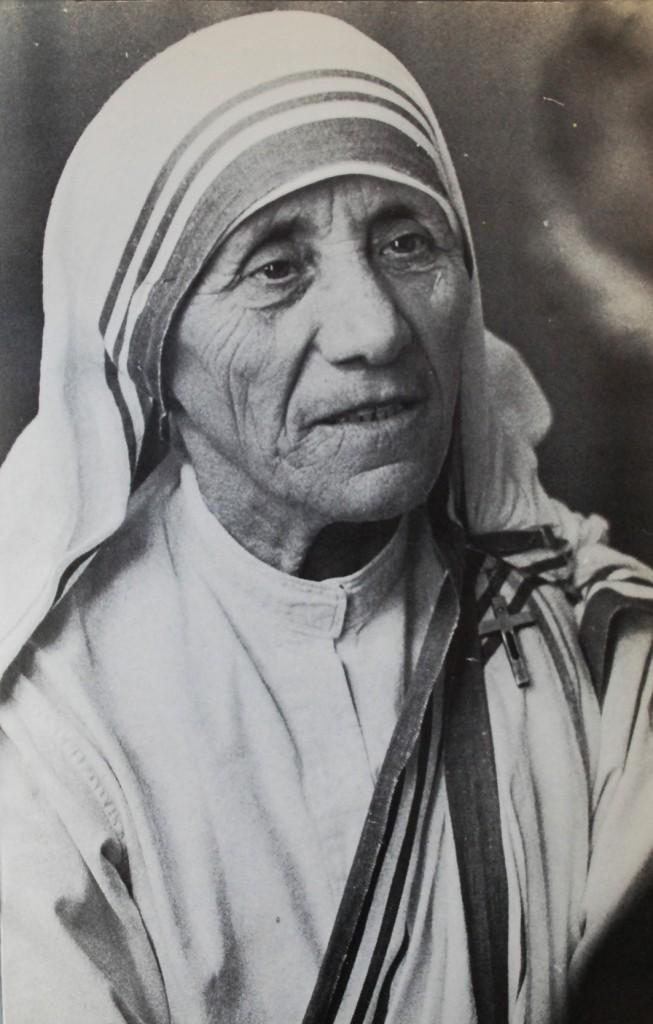 1. Moder Teresa, porträtt