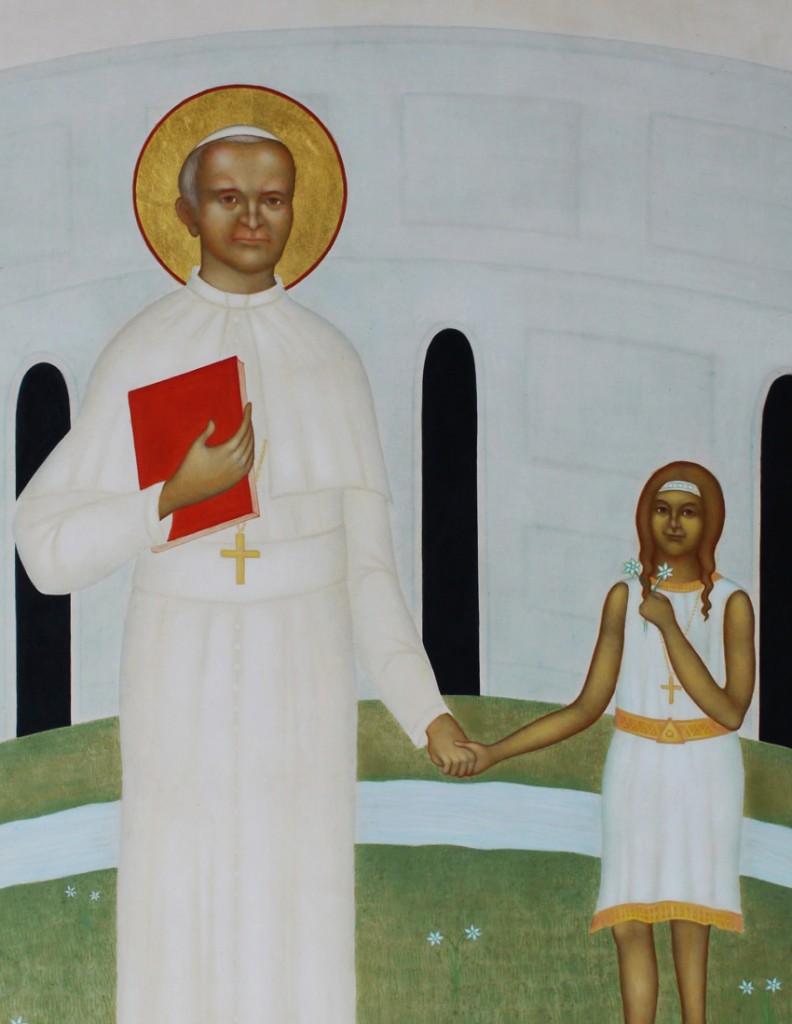 3. Påven JP II och Sofia