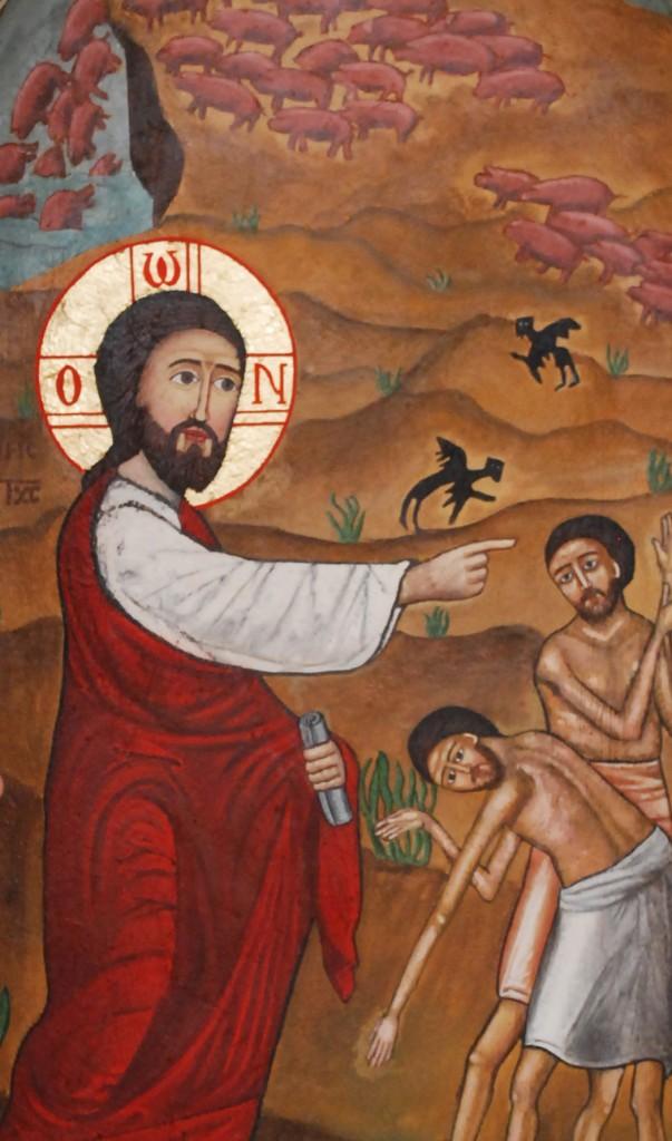 4. Jesus driver ut demonerna