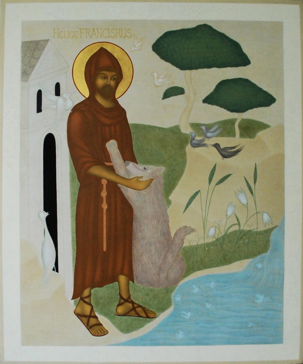 1. Ny vers. Franciskus helbild