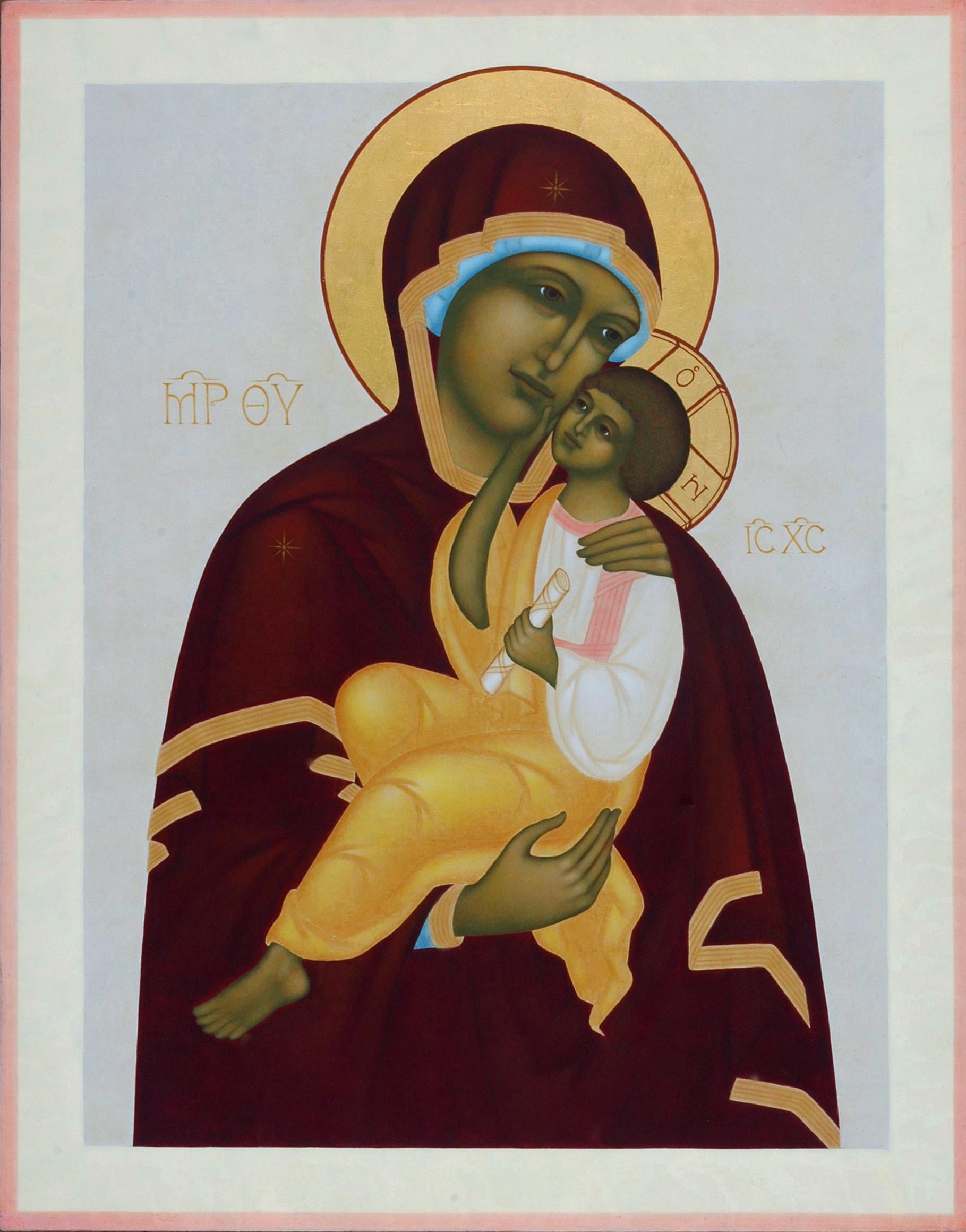 1. Ömhetens Gudsmoder. 2006. 53,5 x 42 cm. Foto Bo Wiberg kopia 2