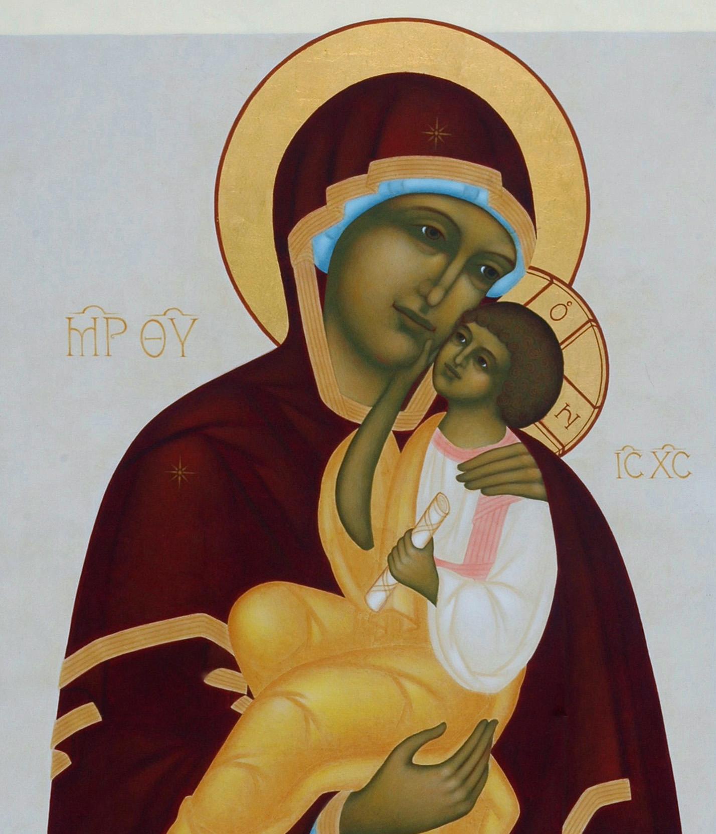2. Ömhetens Gudsmoder. 2006. 53,5 x 42 cm. Foto Bo Wiberg kopia