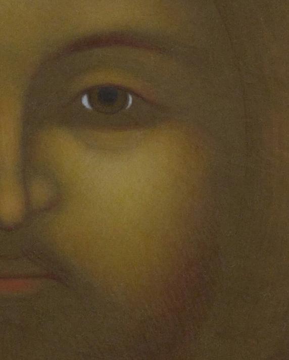 6. Kristus Pantokrator med den brinnande blicken. Ikon målad av Lars Gerdmar, 2015. 47 x 38 cm. Foto, Mattias Piltz. Lunds stiftskansli kopia 3