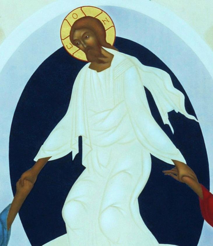 4. Uppståndelsen. Ikon målad av Lars Gerdmar. Foto, Bo Wiberg kopia 3