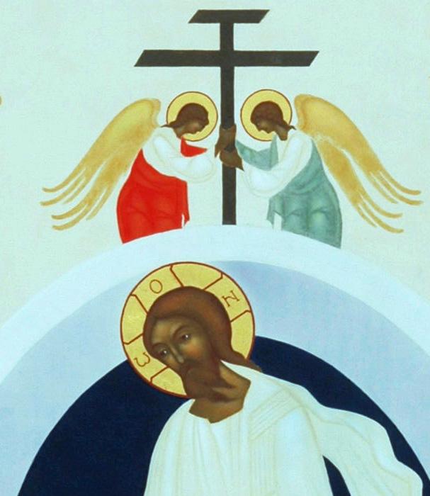 5. Uppståndelsen. Ikon målad av Lars Gerdmar. Foto, Bo Wiberg kopia 4