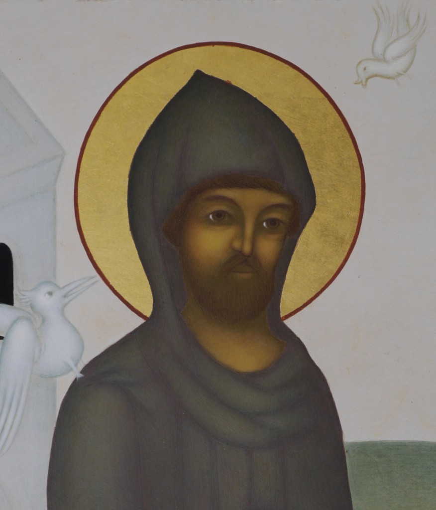 2. Franciskus ansikte
